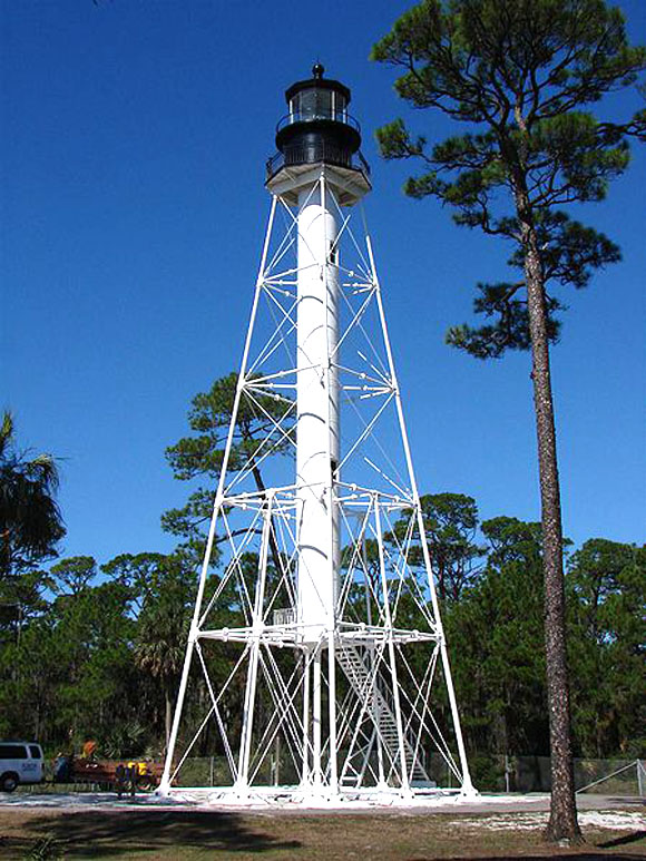 Cape San Blas Lighthouse, from Wikimedia (public domain)