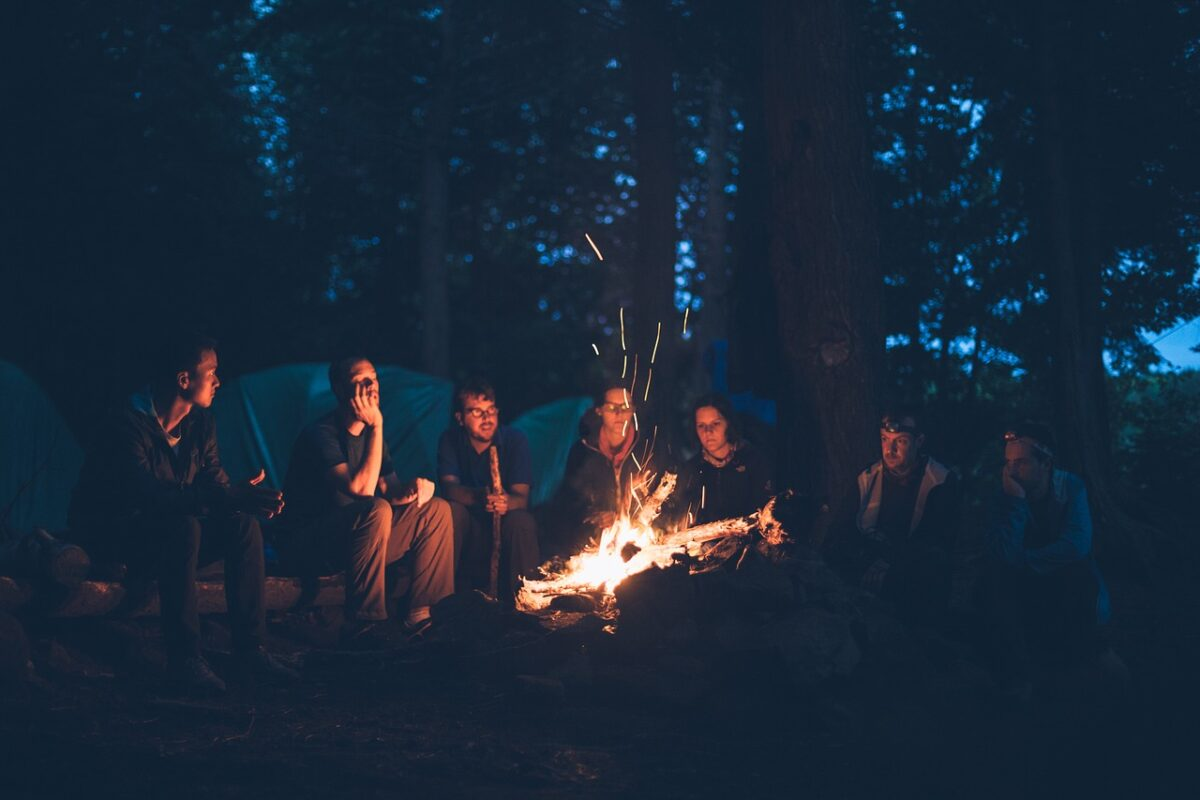 Camping is good for your social and emotional health