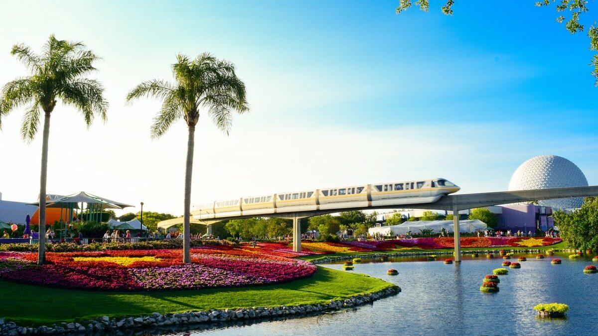 Orlando Florida - Disney Epcot Monorail