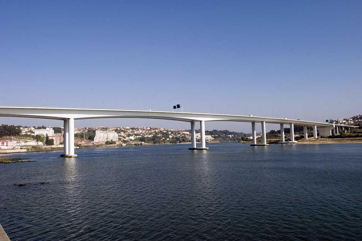Freixo Bridge, Porto, Portugal