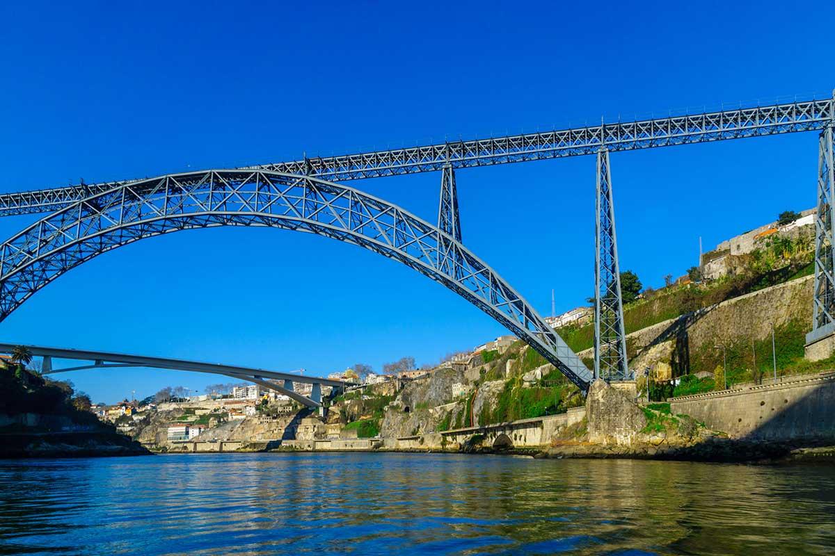 Maria Pia Bridge, Porto, Portugal
