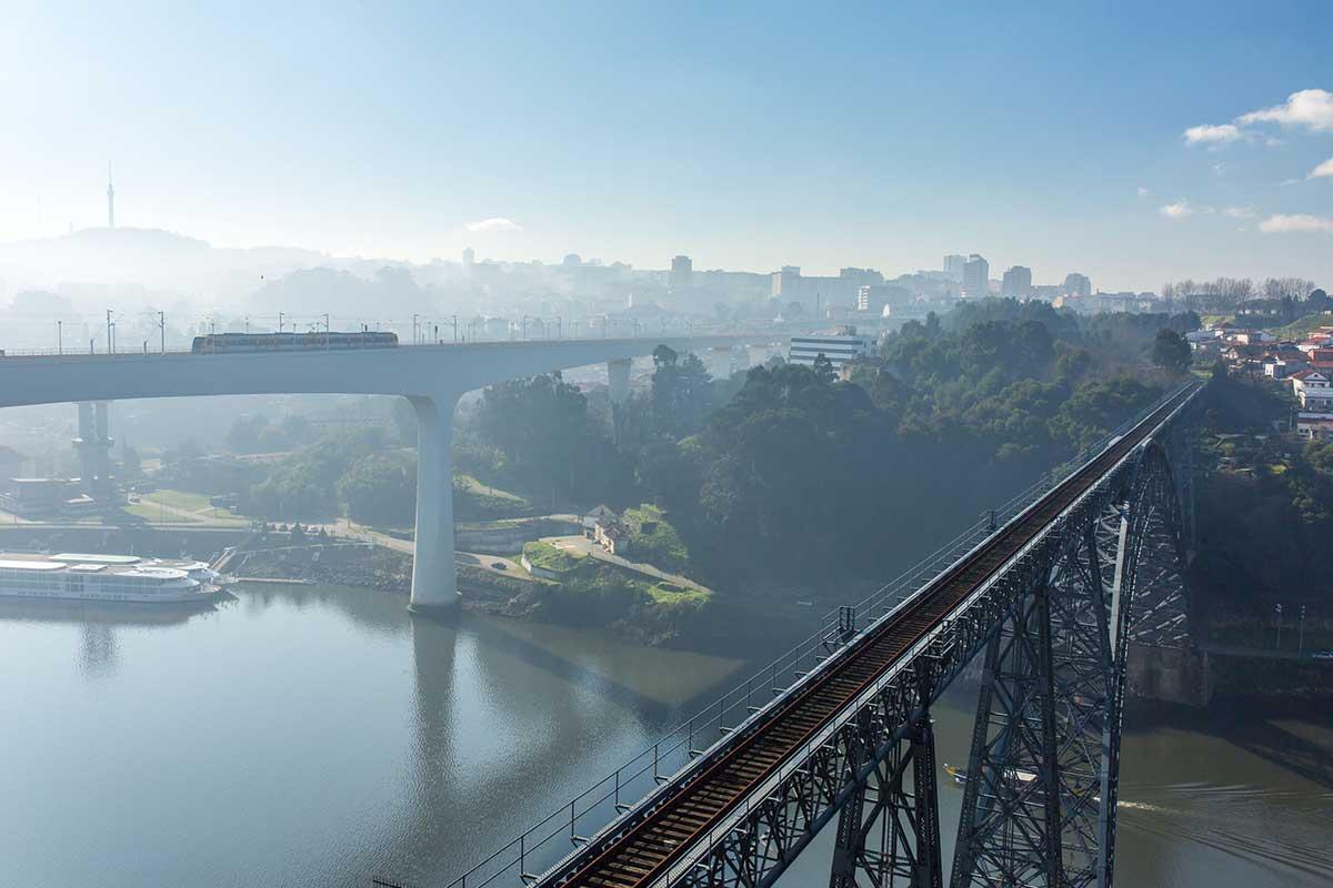 Sao Joao Bridge, Porto, Portugal
