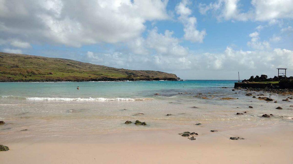 Rapa Nui Anakena Beach