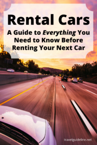 Rental Cars - Everything You Need to Know