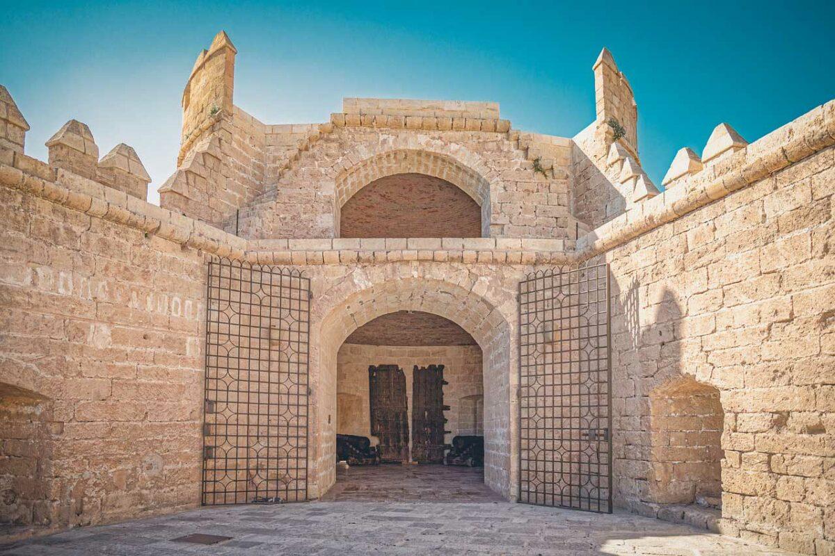 El Alcazaba de Almeria - castle in Andalucía, Spain