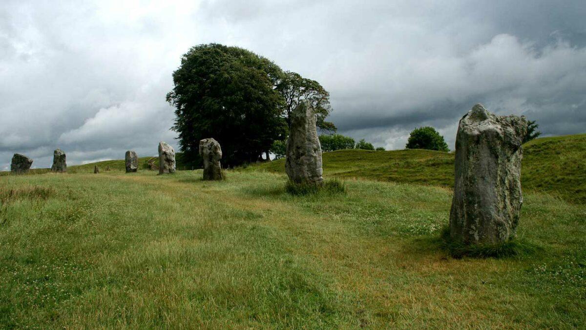 Avebury Henge in England