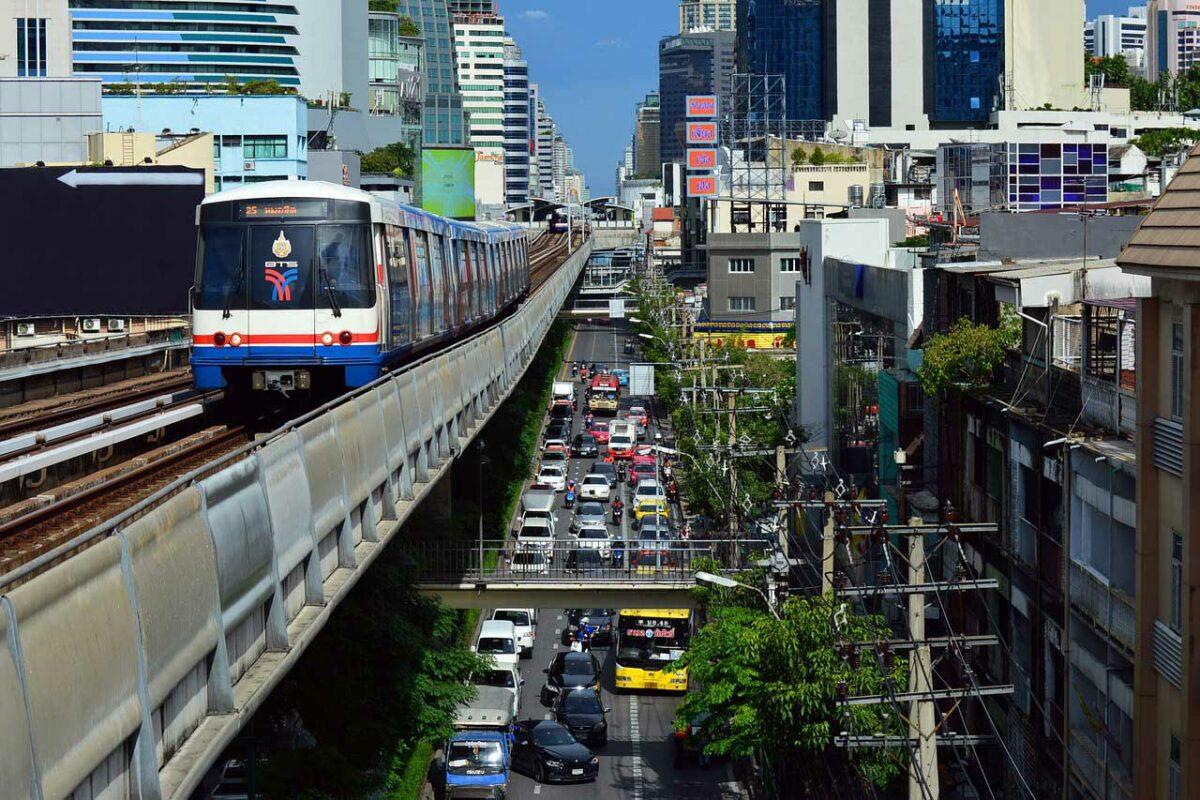 BTW Overhead Train in Bangkok