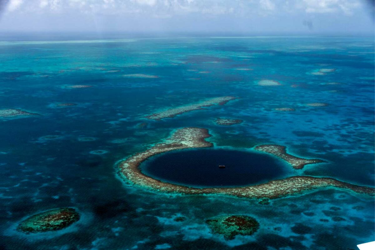 Blue Hole, Belize Barrier Reef