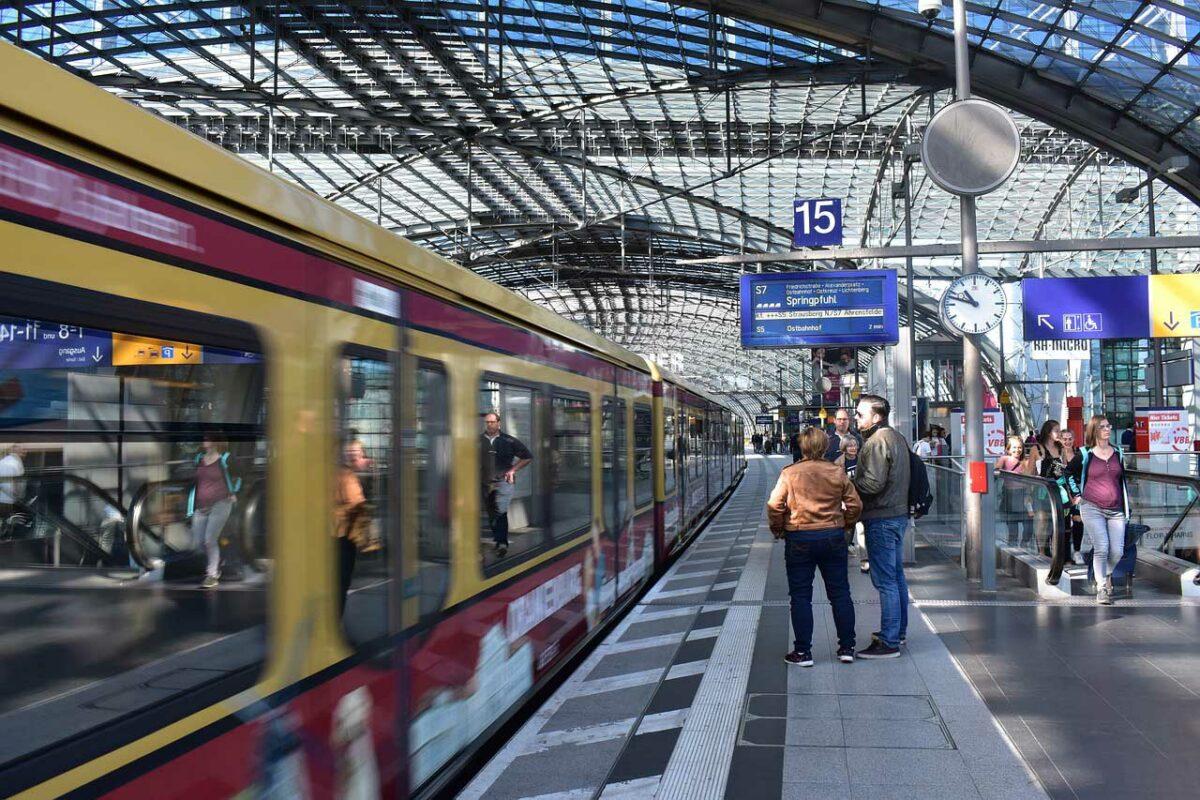 Berlin Germany Train Station