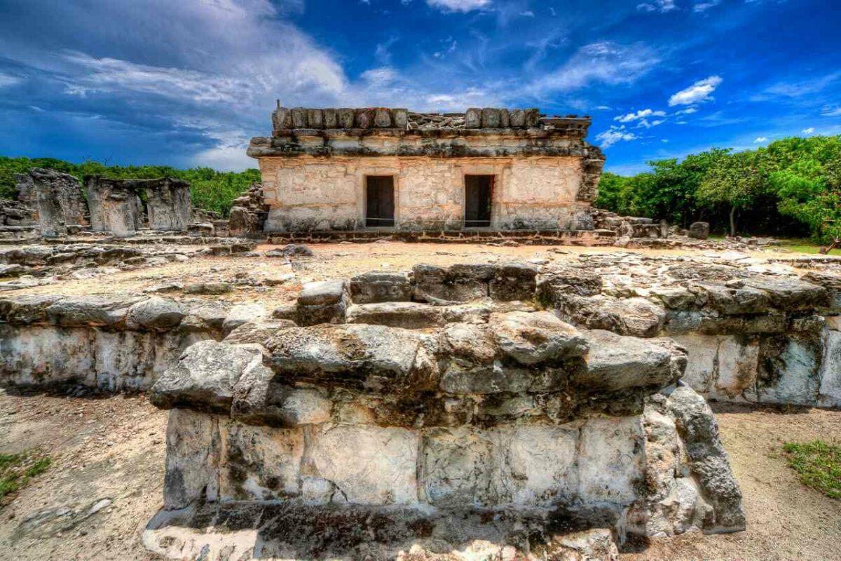 El Rey Mayan Ruins near Cancun, Mexico