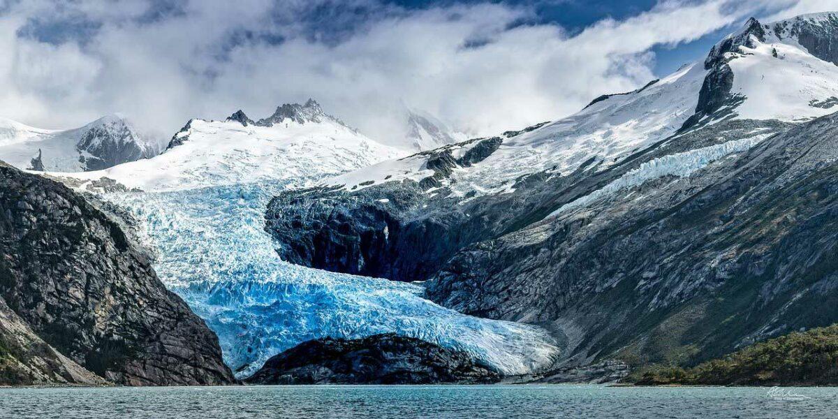 Glacier in Patagonia, Chile