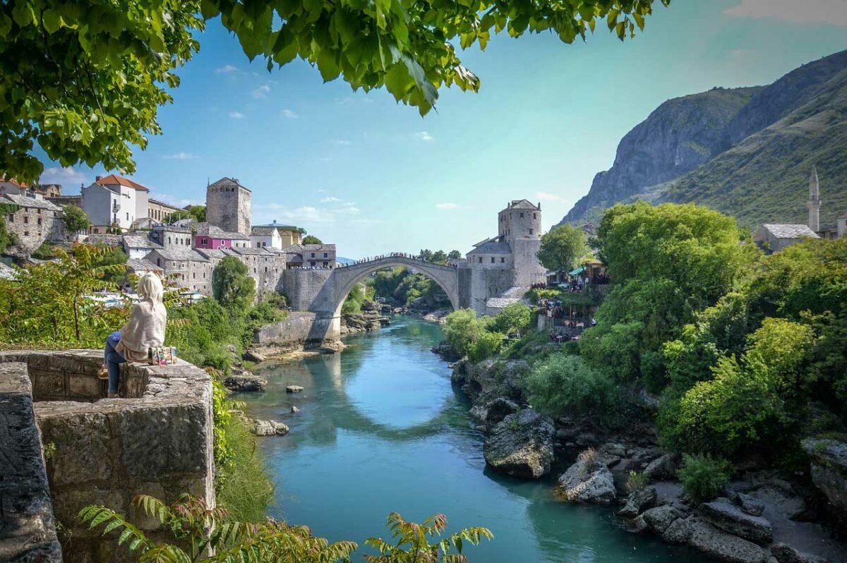 Mostar Bridge, Herzegovina