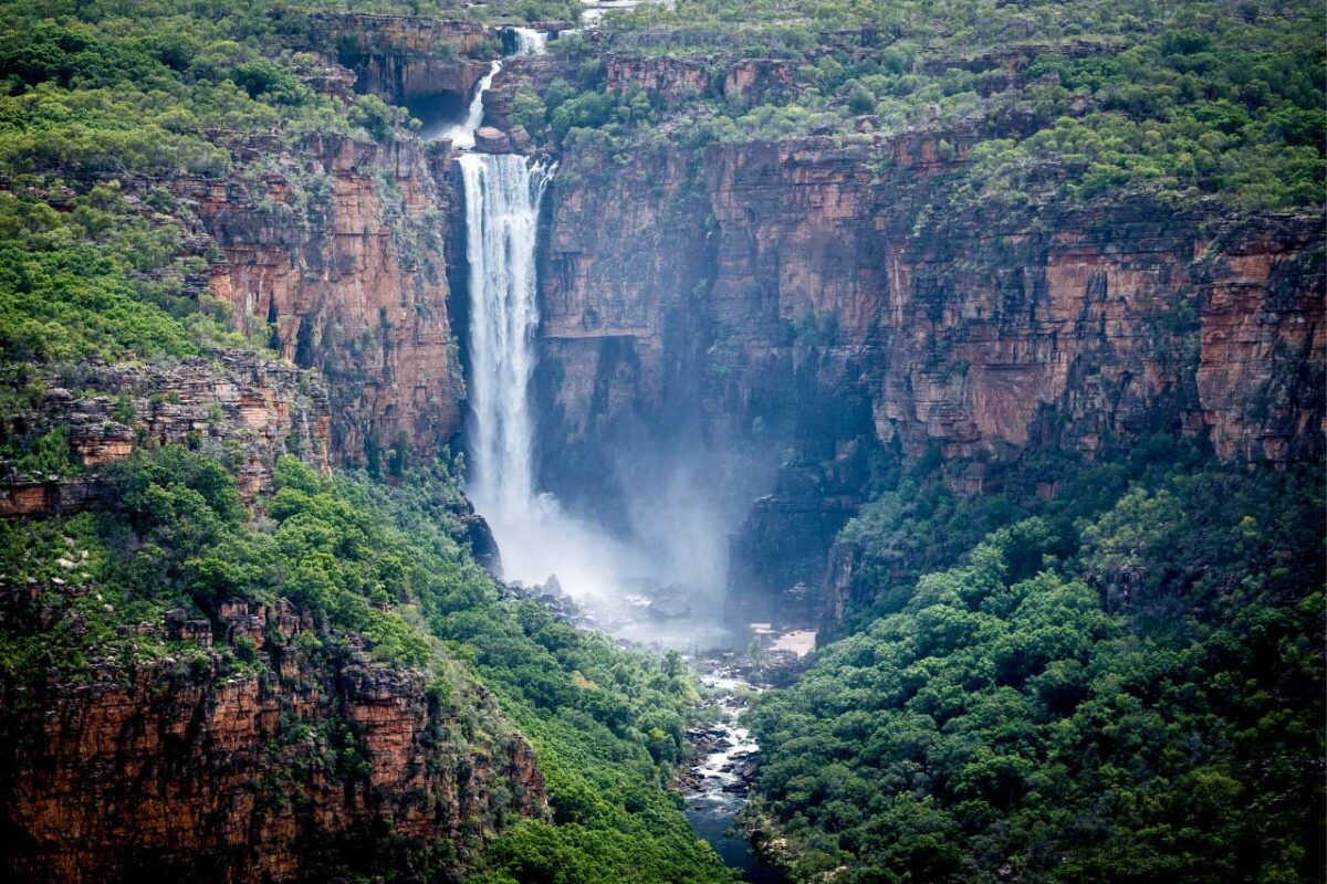 Jim Jim Falls in Kakadu National Park, Australia