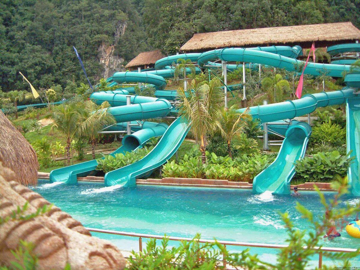 Lost World of Tambun water park Malaysia