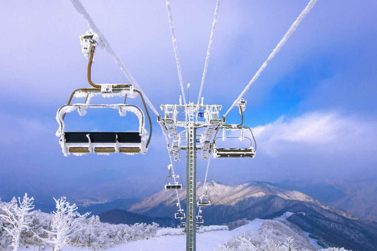 Muju Ski Resort, South Korea