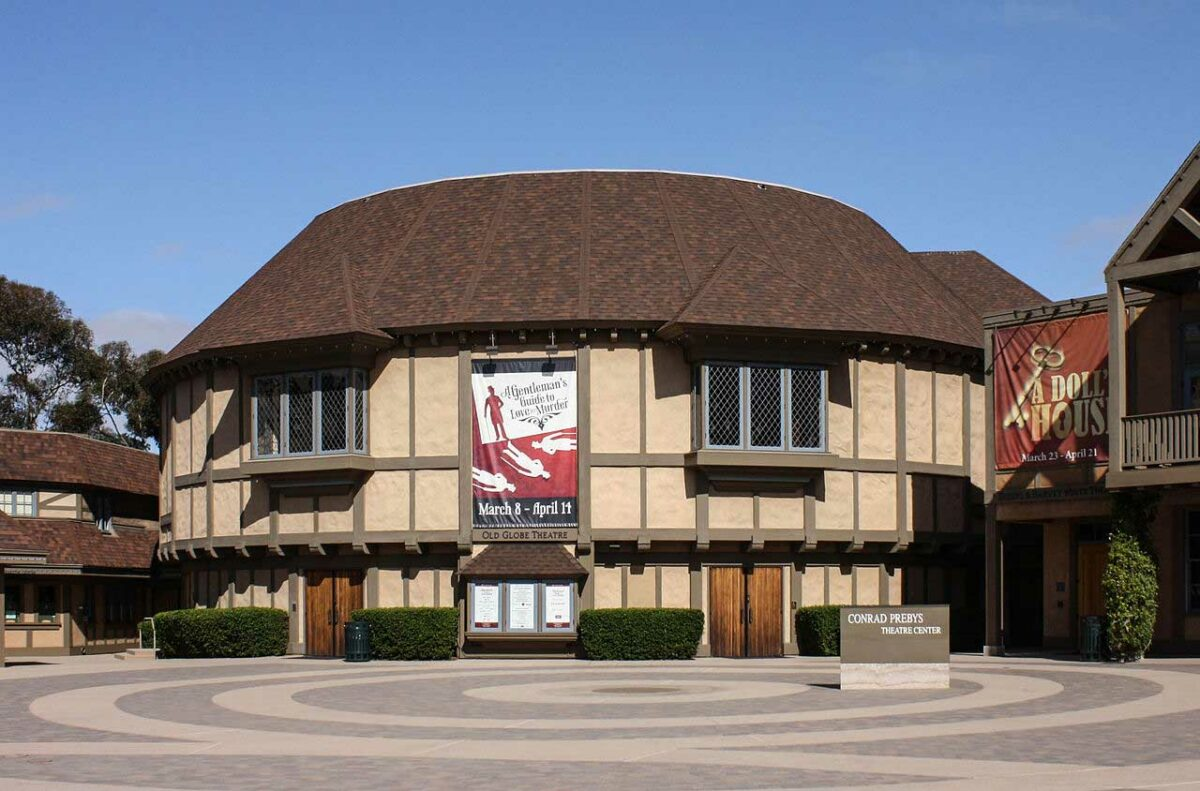 Old Globe Theatre in San Diego