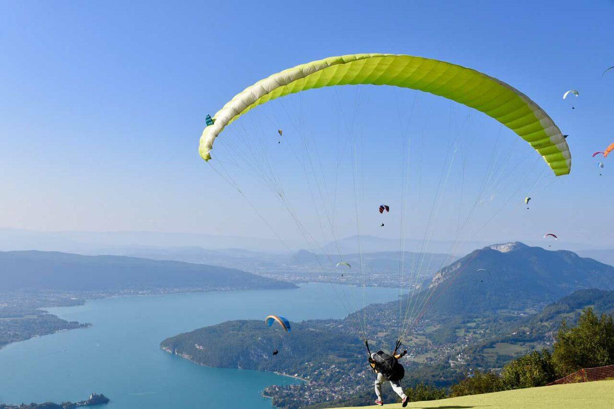 Paragliding Around the World