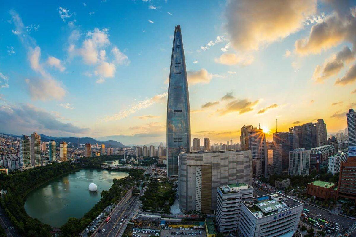 Skyline of Seoul, South Korea