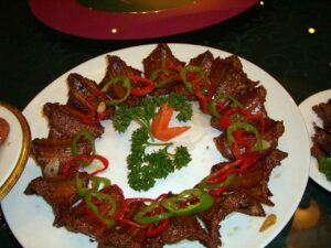 Eating Snake Meat in Shanghai