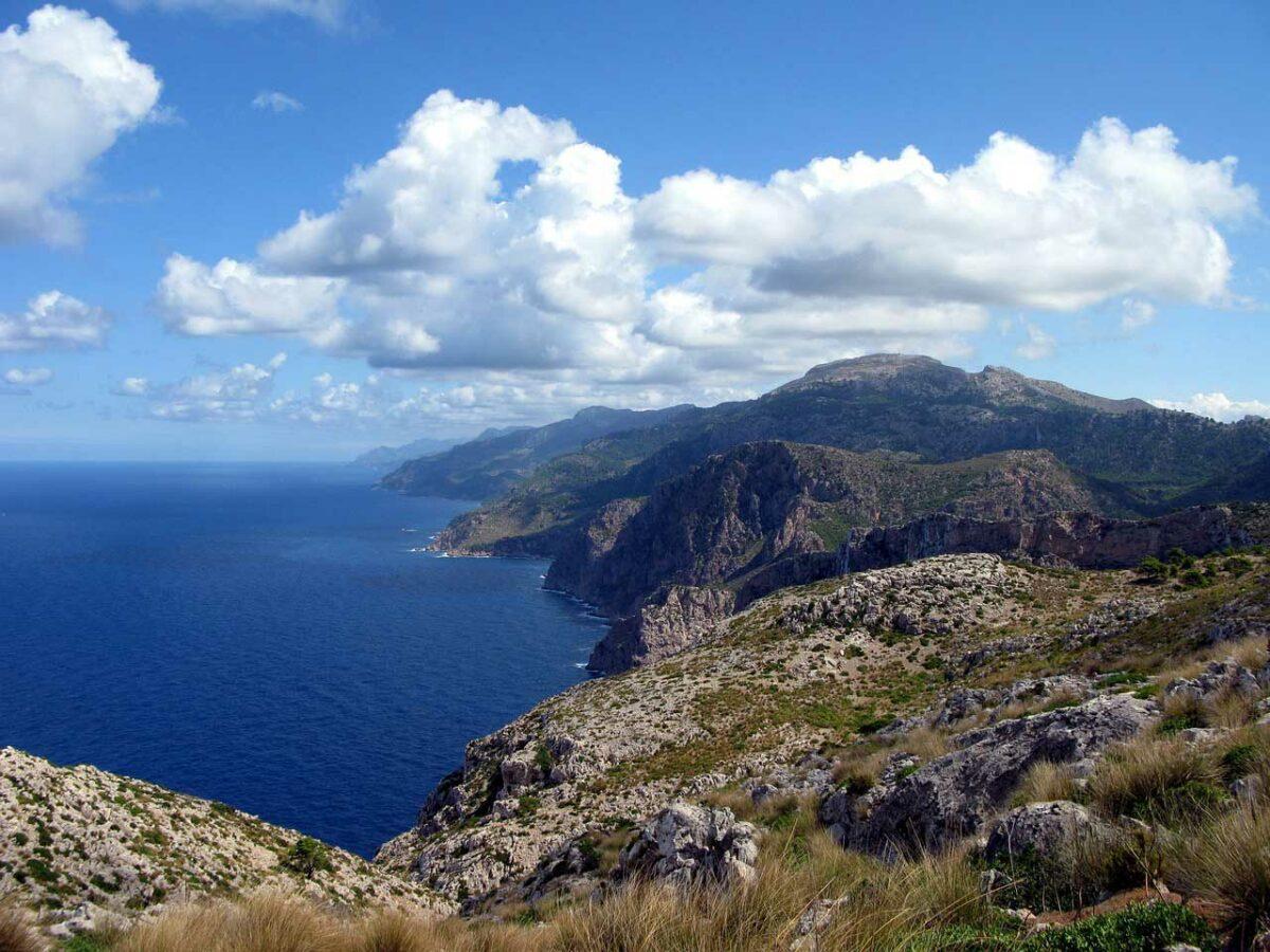 Tramuntana Mountains. Mallorca
