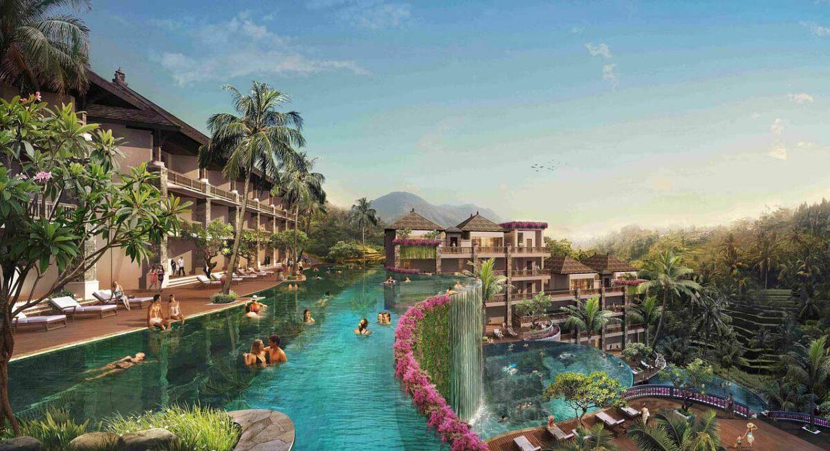 A resort in Ubud
