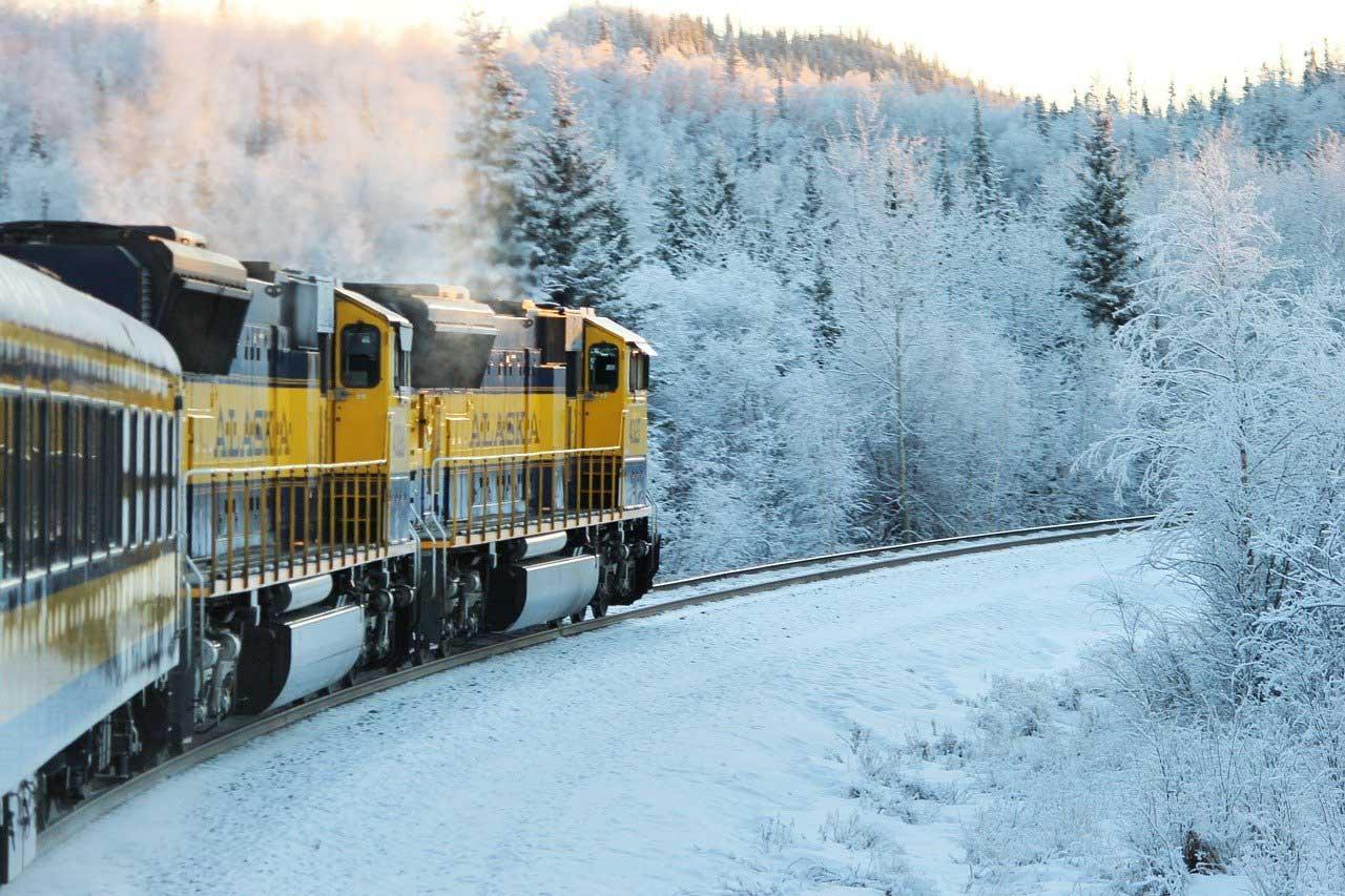 Riding the Rails in Alaska