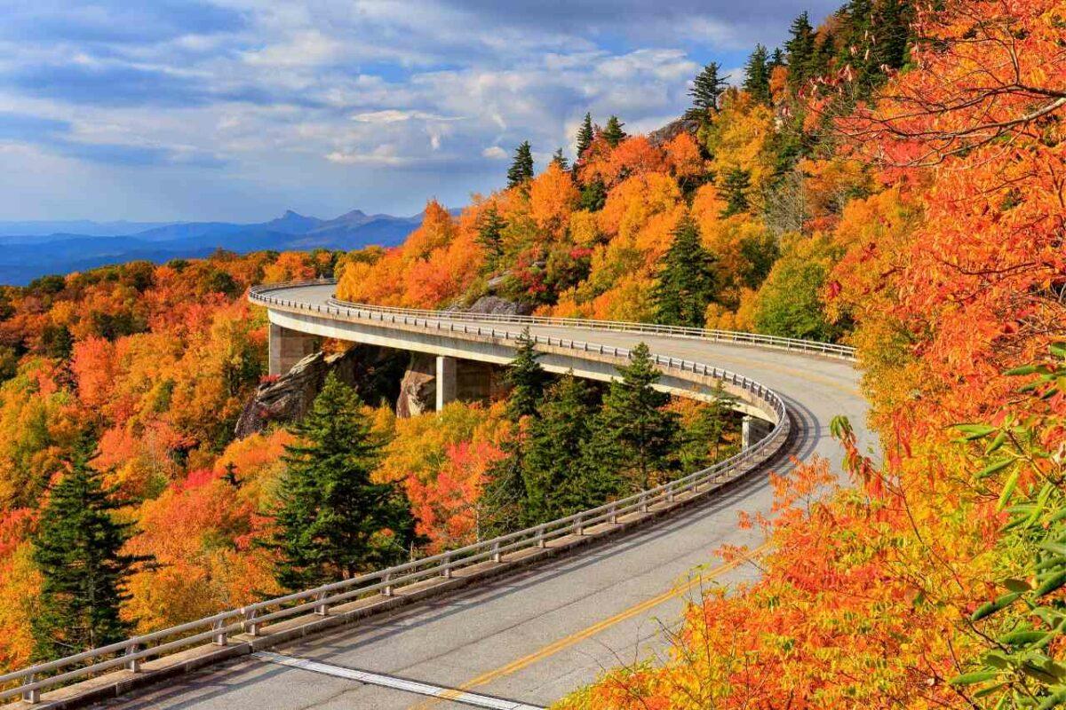 Autumn on the Blue Ridge Parkway, North Carolina