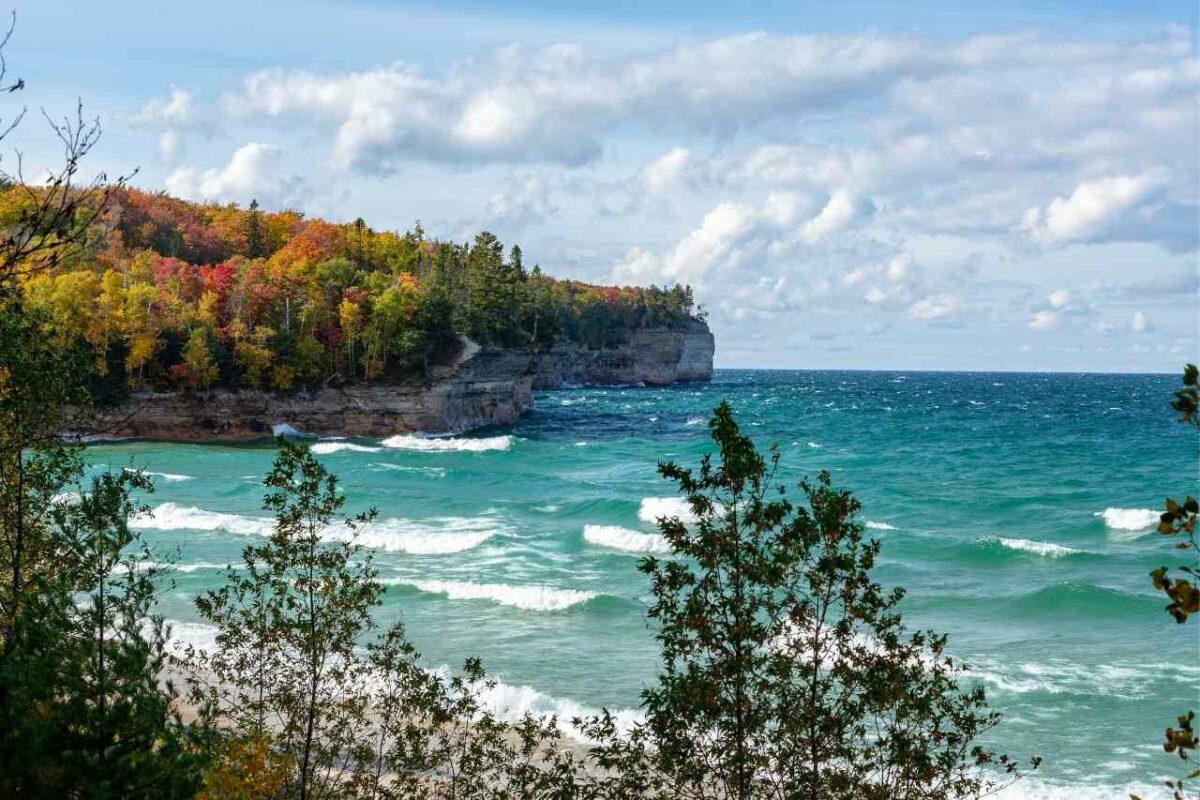Autumn, Lake Superior, Michigan