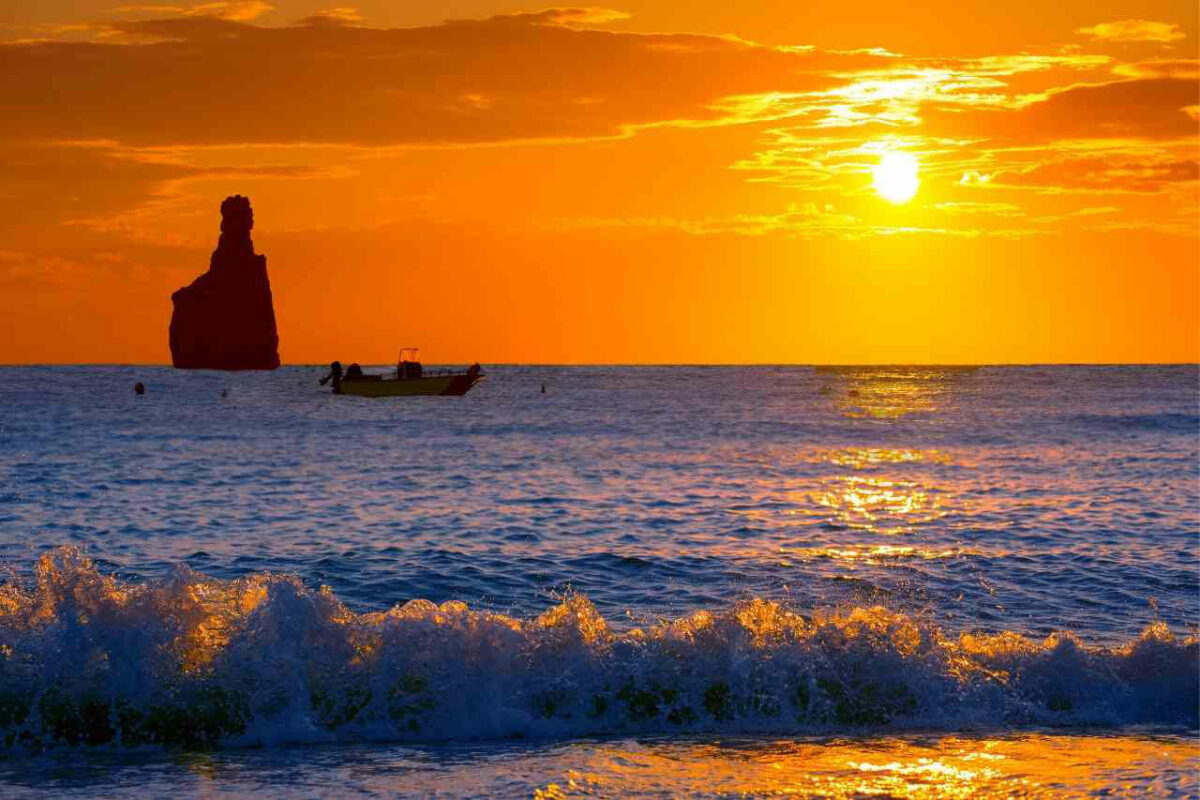 Benirras sunset