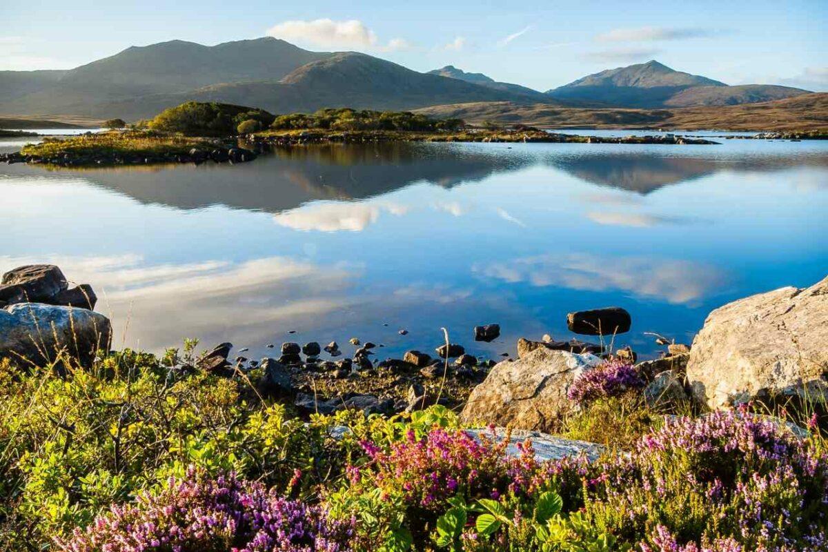 Lake in Outer Hebrides, Scotland
