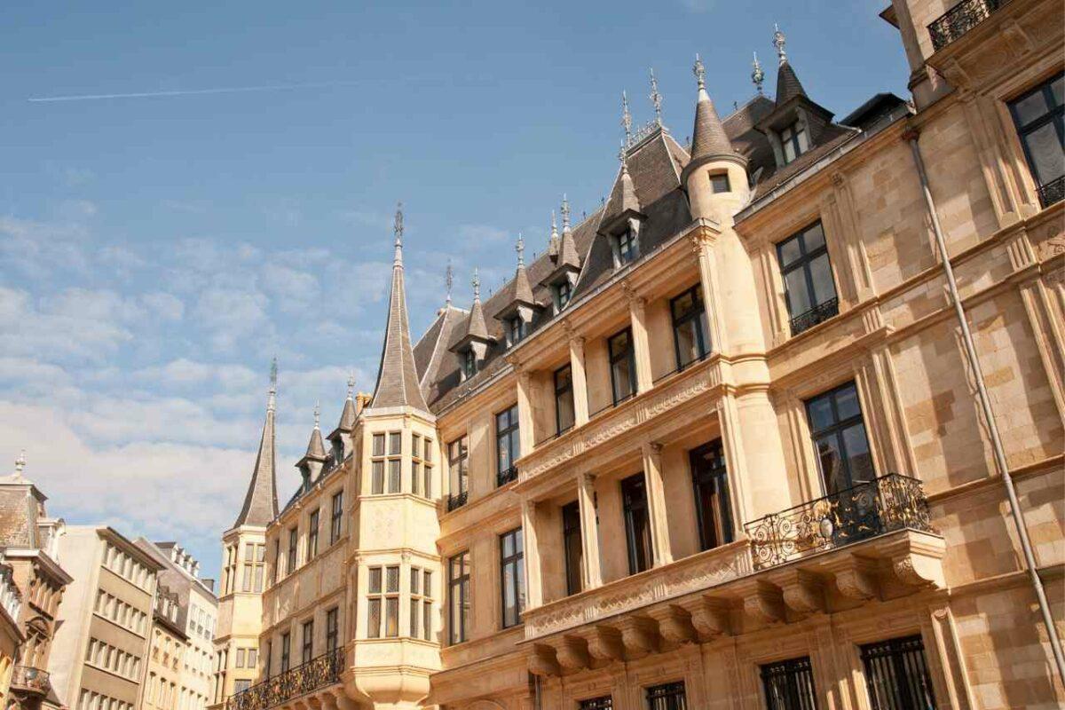 Palais Grand-Ducal, L:uxembourg City