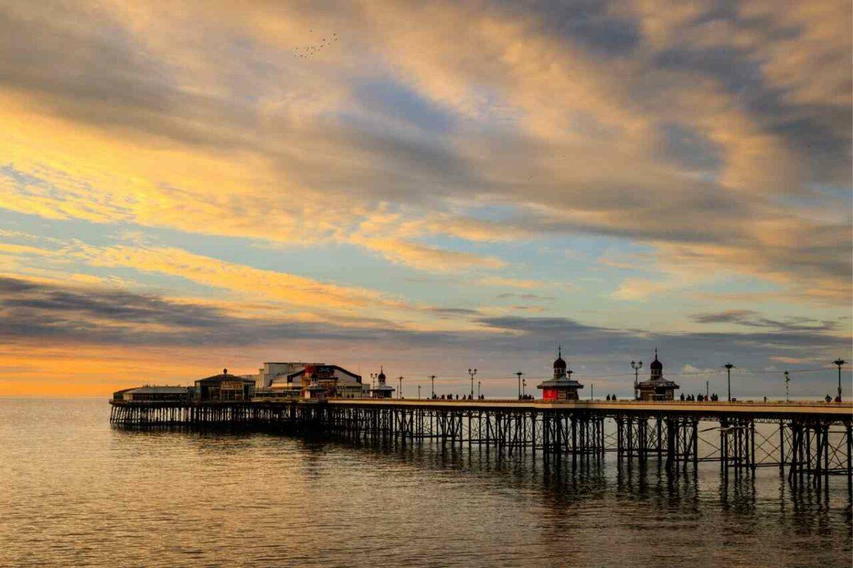 North Pier, Blackpool Beach