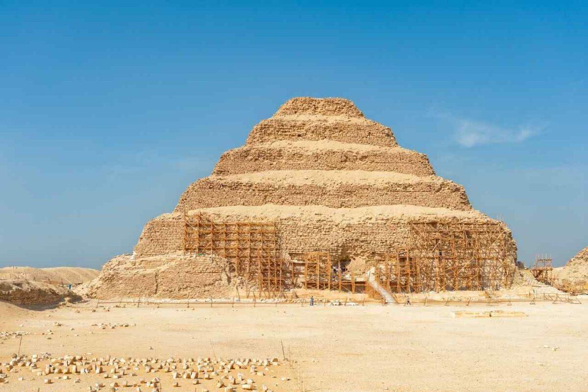 Pyramid of Djoser (Saqqara necropolis)