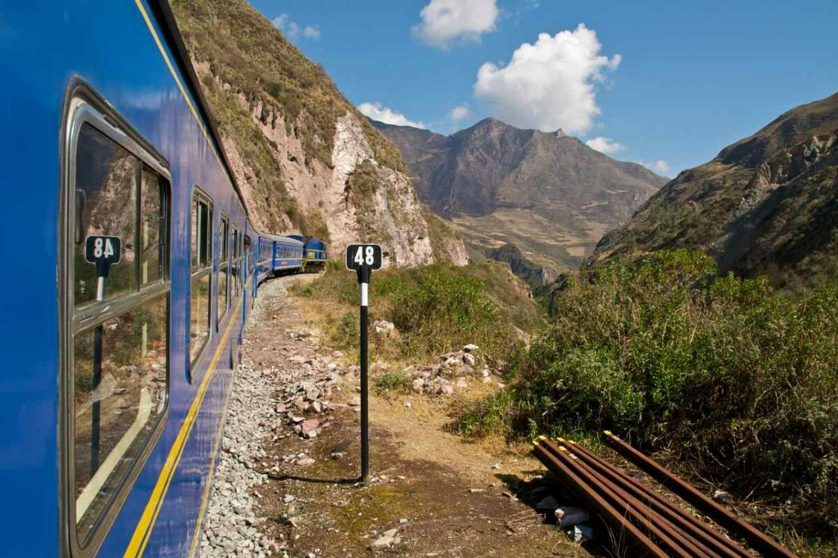 Hiram Bingham Train to Machu Picchu, Peru