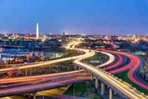 washington DC avoid driving at night