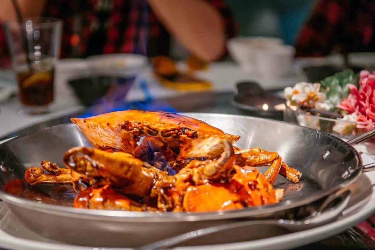 Chili Crab, Singapore Food