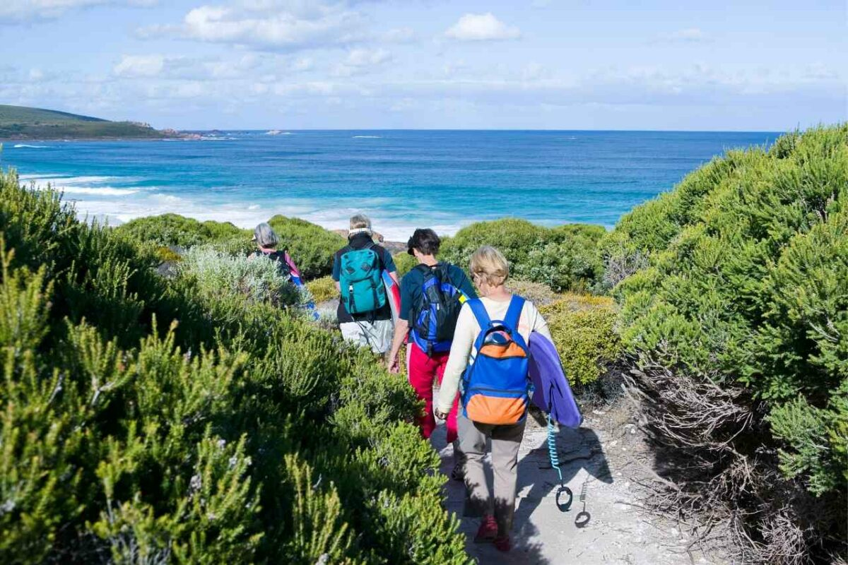 Hiking by the Margaret River