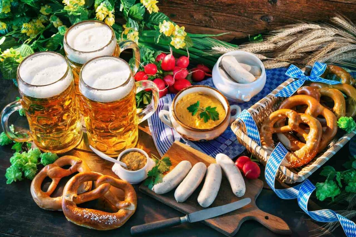 Beer and Food in Munich, Germany