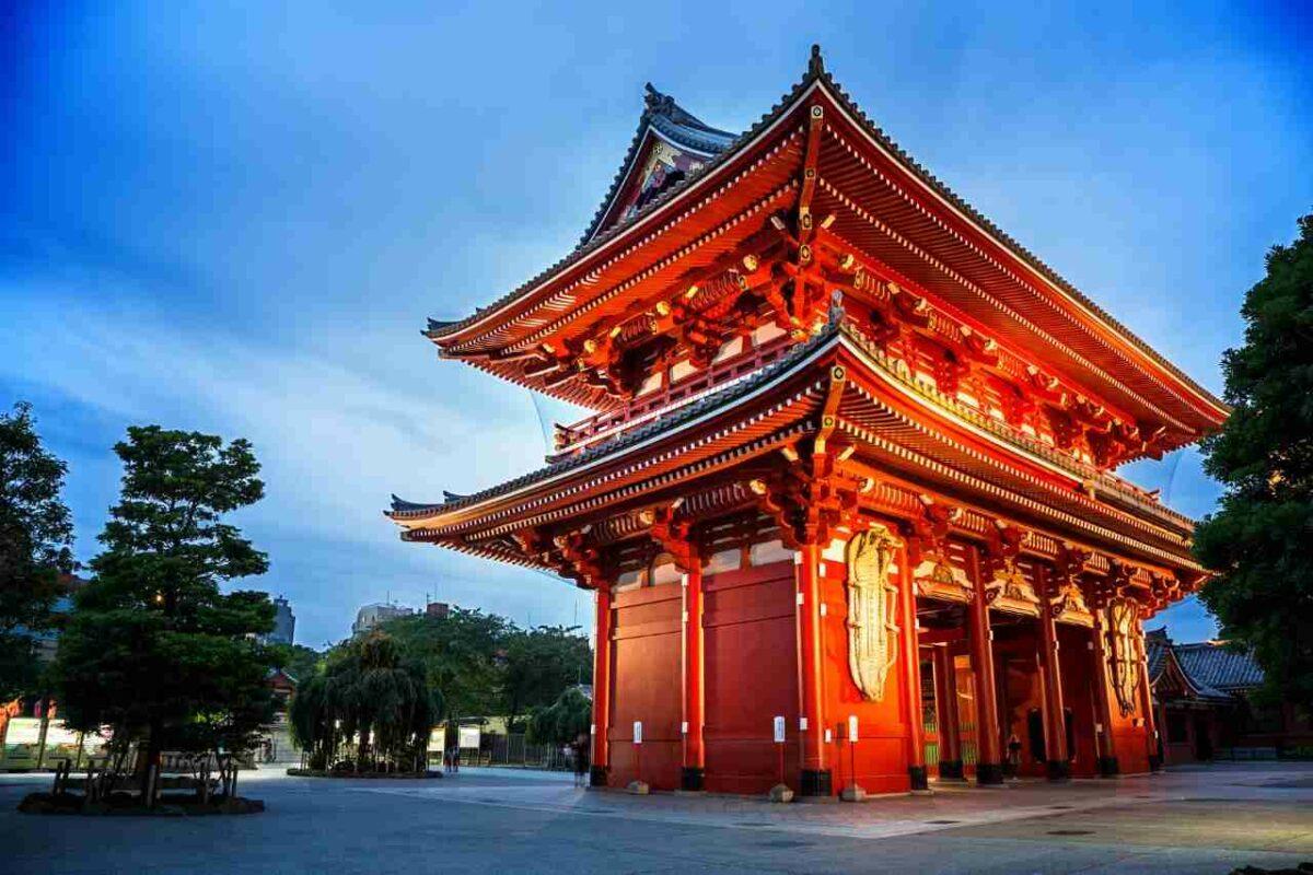 Sensoji Shrine, Tokyo, Japan