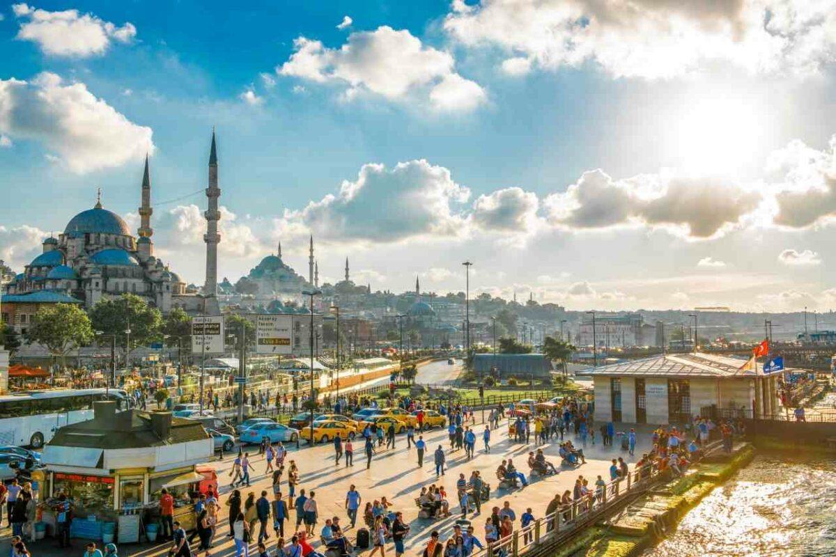 Istanbul, Turkey, one of the most vibrant Mediterranean destinations
