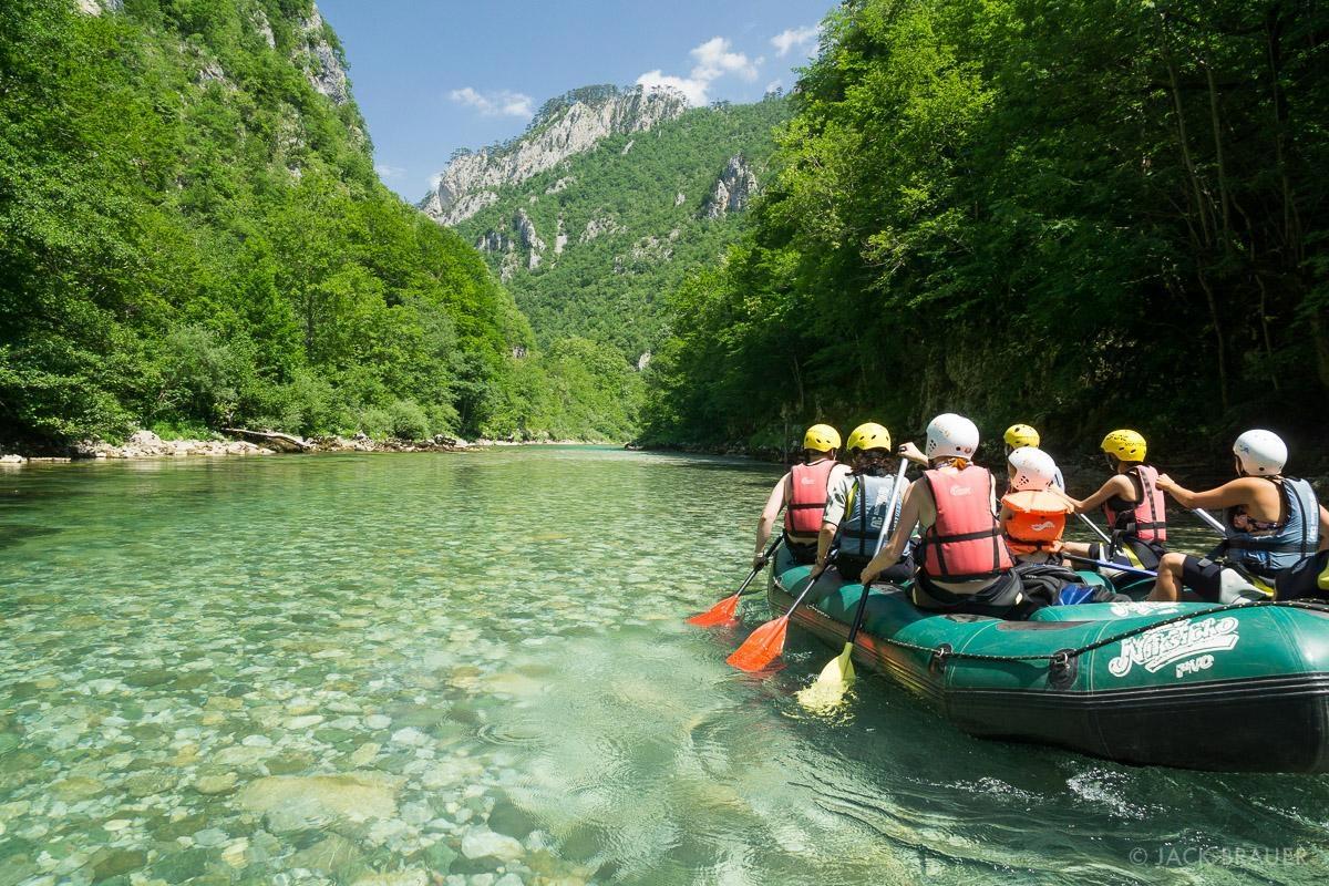 Whitewater Rafting Montenegro
