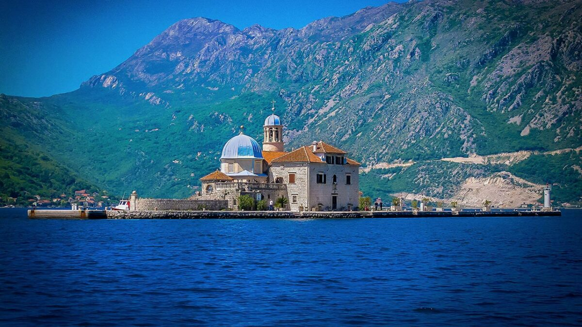Our Lady of the Rocks island, Montenegro