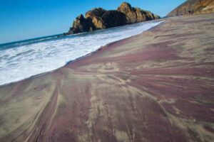 A Rainbow of Colored Sand Beaches