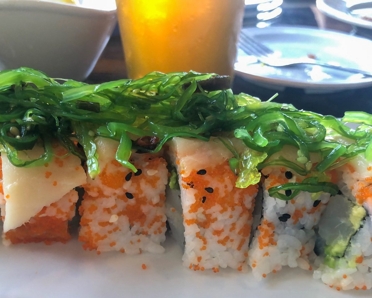 Lionfish Sushi Roll at Castaway