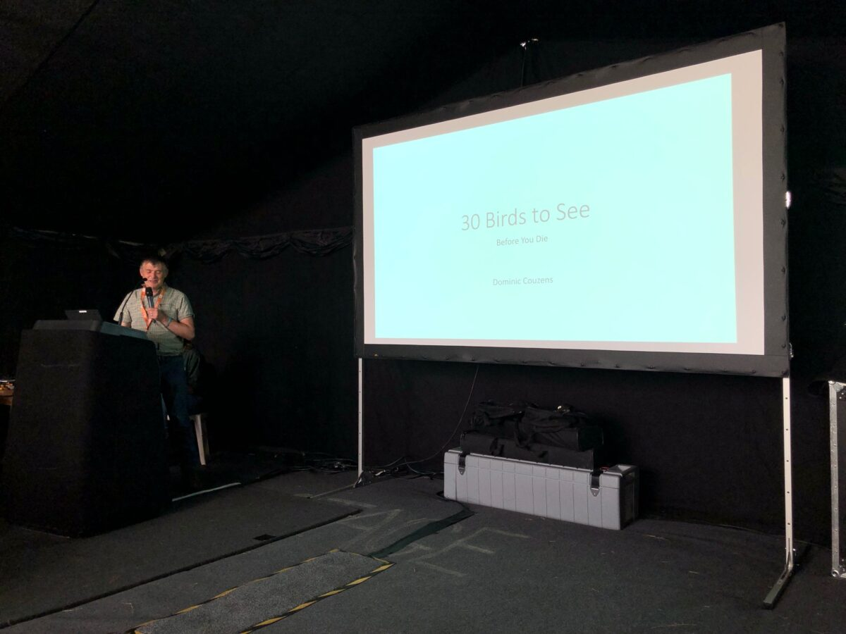 Birdfair lecture by Dominic Couzens