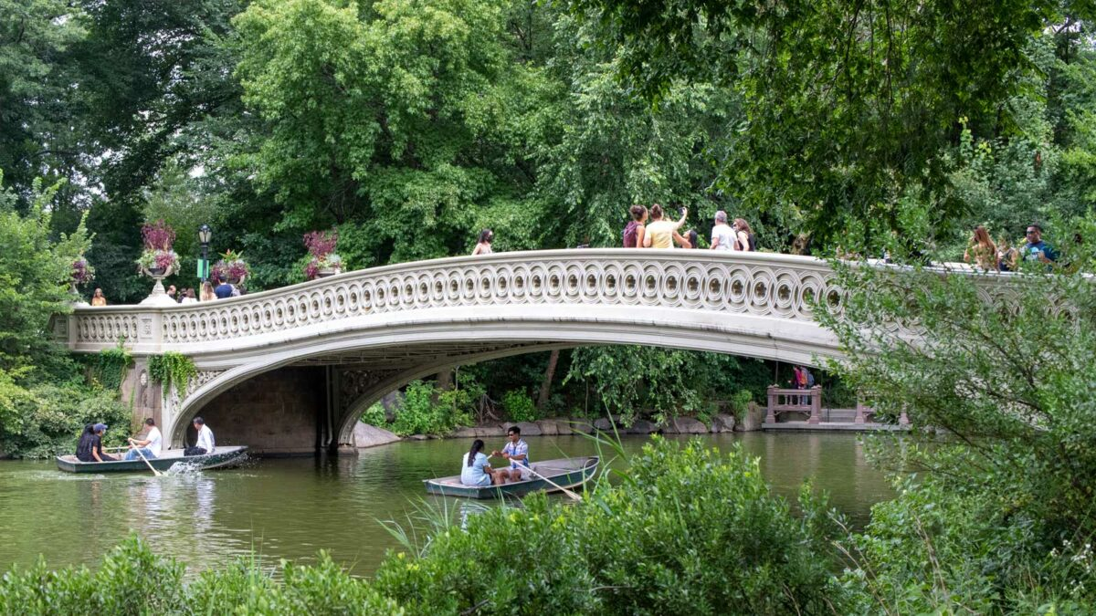 Bow Bridge in Central Park, New York City Things to Do