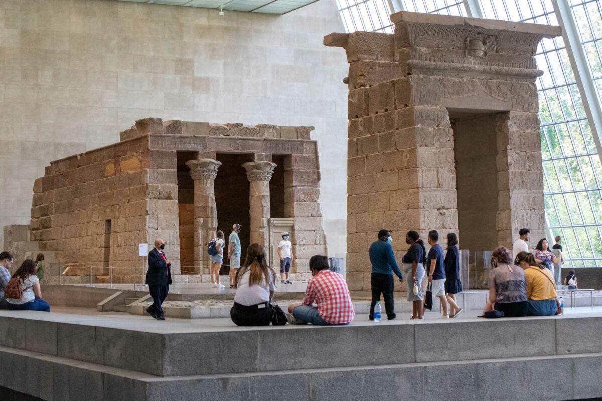 Temple of Dendur at the Met