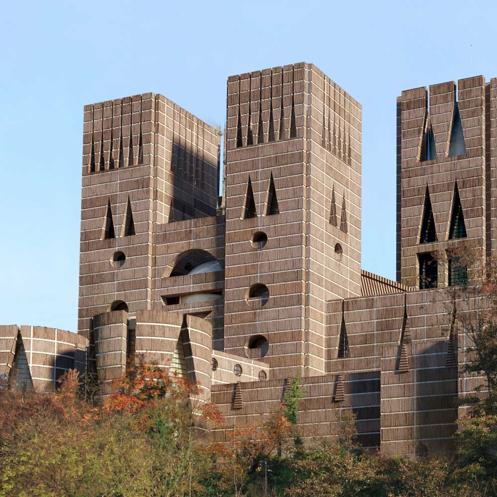 Durham Cathedral if designed by Louis Kahn