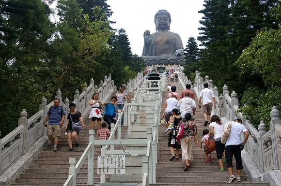 The Big Buddha Statue, Hong Kong