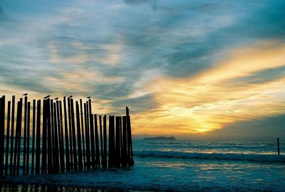 Sunset at Las Playas Beach